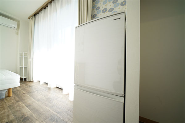 All rooms are equipped with a 2-door refrigerator