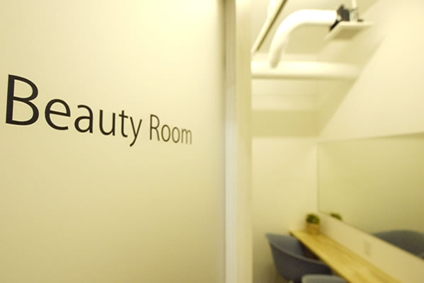 Beauty room equipped with the latest appliances