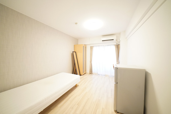 All rooms are equipped with desks and chairs and air conditioning