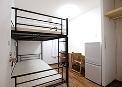 Room 206 Dormitory for male.