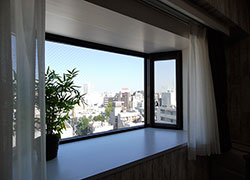 Room D 69,000 yen with Skytree.