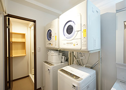 Laundry space.