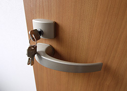 Each rooms are well secured with lock.