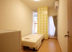 Room210 64,000yen With balcony.