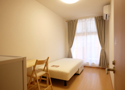 Room208 64,000yen With balcony.