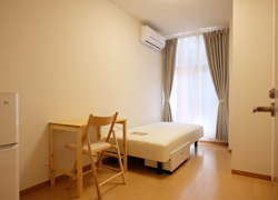 Room207 64,000yen With balcony.