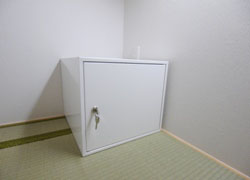 all rooms are equiped with key-lock, you can put your valuables there.
