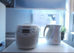 Rice cooker and T-fal electric pot