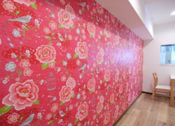 wallpaper is produced overseas